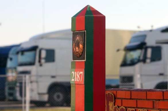 Кадры прорыва никчёмной белорусской оппозиции через границу на Украину | Русская весна