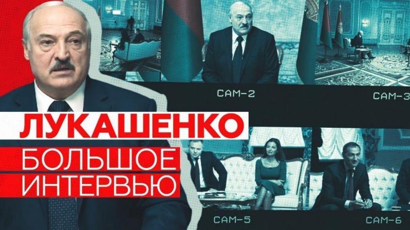 Интервью Лукашенко RT и другим российским СМИ