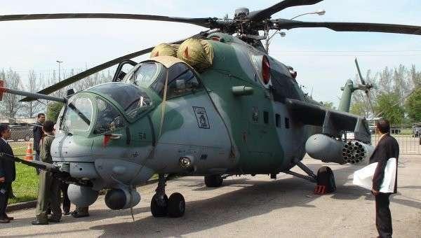 Завершена поставка 12 вертолетов Ми-35М для ВВС Бразилии