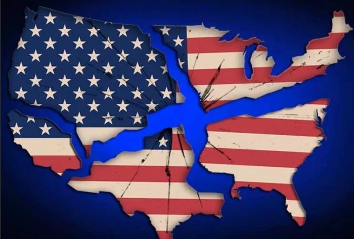 Разъединенные Штаты Америки: Республиканцы и демократы разъезжаются по разным