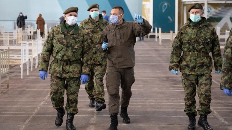 Сербия отказалась участвовать в учениях с Россией и Белоруссией из-за огромного давления ЕС