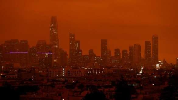 Апокалипсис в Калифорнии: люди сгорают заживо