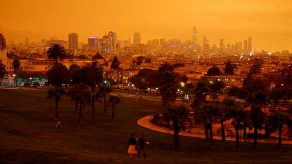 Апокалипсис в Калифорнии: люди сгорают заживо, огнём уже уничтожено пять городов | Русская весна