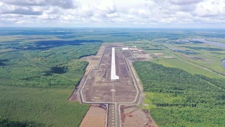 В г. Тобольске приступили к строительству аэровокзала