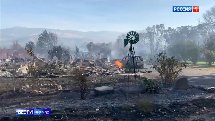 Десятки погибших, сожженные города: новости о пожарах в США как сводки с войны