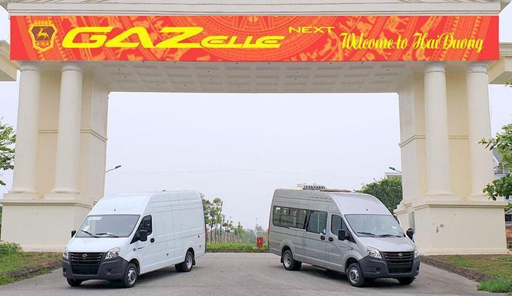 «Группа ГАЗ» начала продажи автомобилей «ГАЗель NEXT» во Вьетнаме