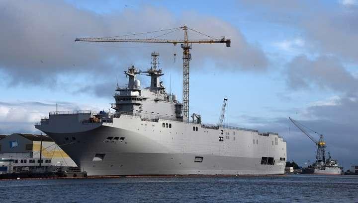 Министр обороны Франции не исключил, что Россия никогда не получит «Мистраль»