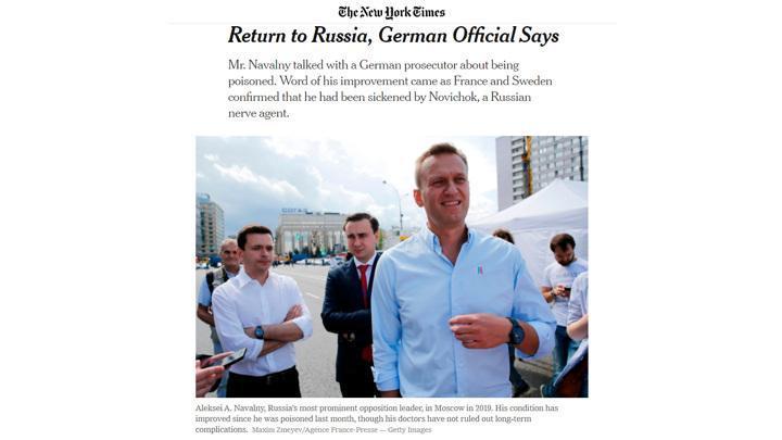 Навальный отказался участвовать в расследовании и собирается бежать обратно в Россию