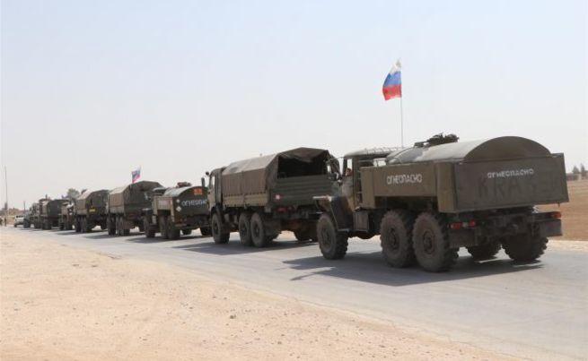 В Сирии российская армия теснит оккупантов из США у нефтяных месторождений