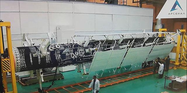 Ход работ по созданию первого русского ядерного планетолёта