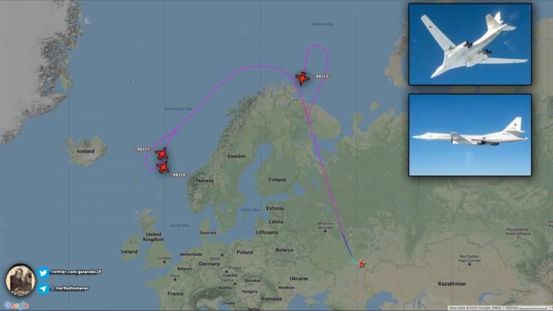 Угроза Владимиру Путину: Ту-160 держали на прицеле Лондон в ответ на появление B-52 в Чёрном море
