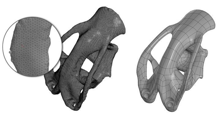Топологическая оптимизация кронштейна самолета «Борей», спроектированного в КОМПАС-3D
