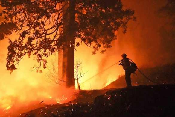 Дым от массовых пожаров в США пересёк океан и достиг Европы | Русская весна