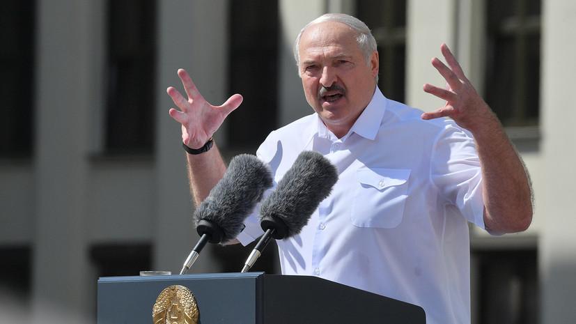 Александр Лукашенко объявил о закрытии границы Белоруссии с Литвой и Польшей
