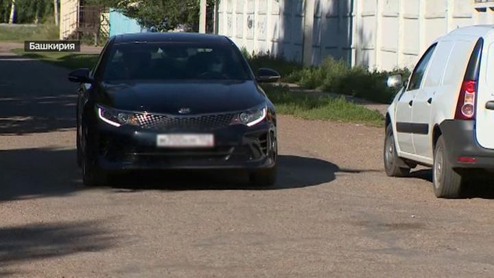 Авто высокопоставленного полицейского Башкирии засветилось на месте преступления