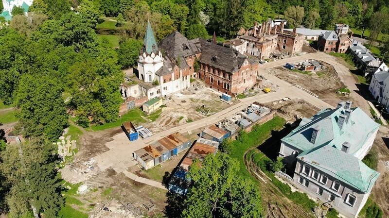 Федоровский городок, вид сверху