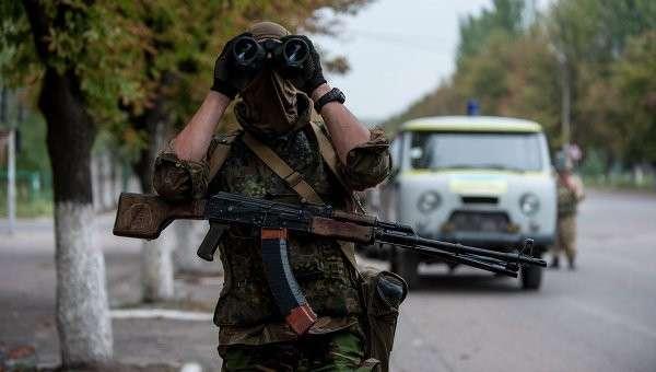 Украинский солдат из батальона Донбасс. Архивное фото