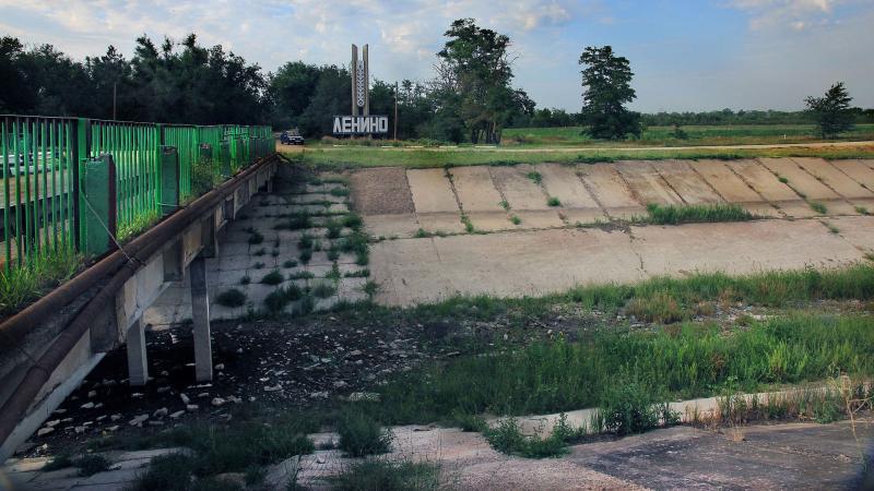 Россия нашла способы преодолеть украинскую блокаду воды в Крым