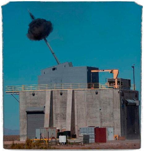 Источник: U.S. Navy photo/Ken Tillges. Артиллерийская установка, разработанная по программе Advanced Gun System.